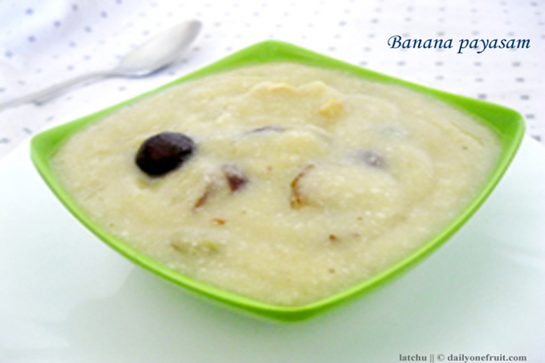 How to Prepare Banana Payasam