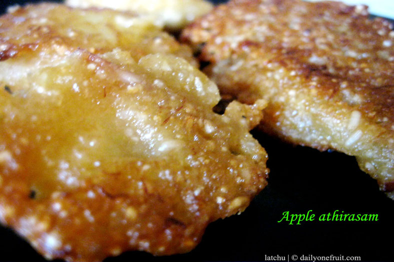 How to prepare Apple Athirasam