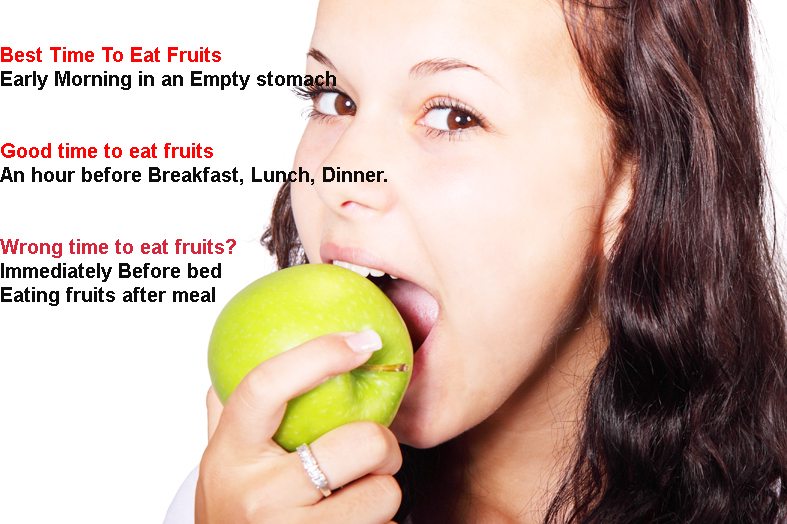 What is the Best time to eat fruits