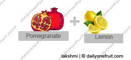 Homemade Pomegranate Face and Hair Pack