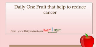 Fruits that help to reduce cancer