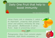 Fruit that help to boost immunity