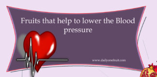 Fruits that lowers blood pressure