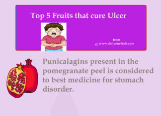 Top 5 fruit that cure Ulcer