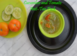 Cucumber and Tomato AntiTan Pack