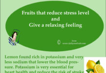 Fruits that reduce stress level