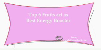 Top 6 Fruits that act as Best energy Booster
