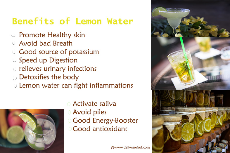 Benefits Why Lemon Water need to Drink