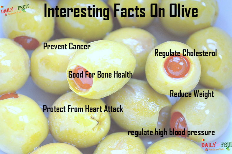 Interesting facts on olive