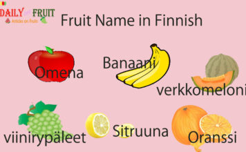 Fruit Name in Finnish